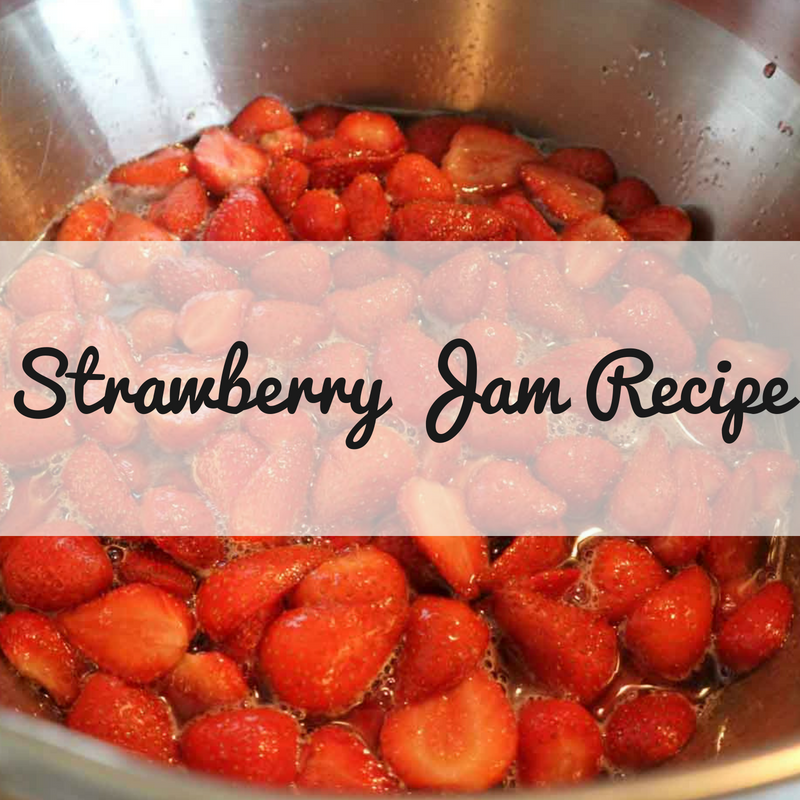 Strawberry Jam Recipe