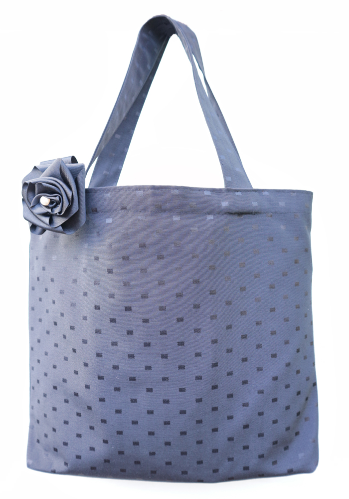 Black Spot Tote Bag