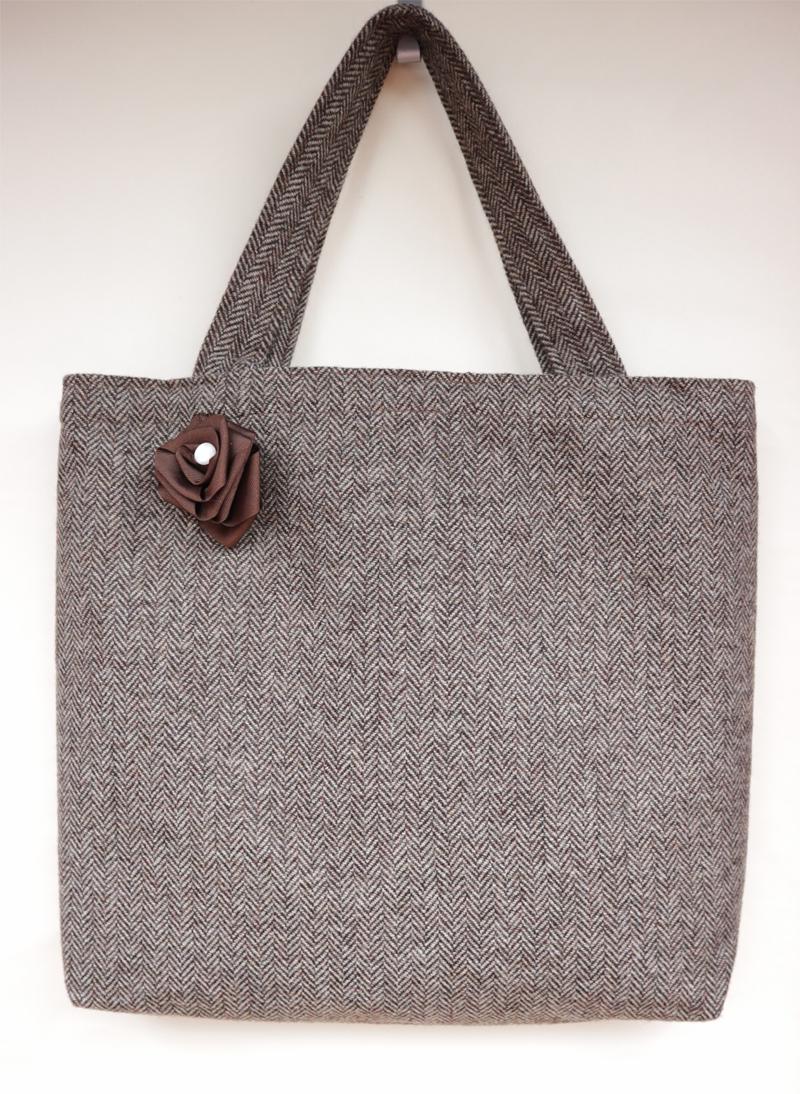Elliotts Shed Scottish Tweed Bag