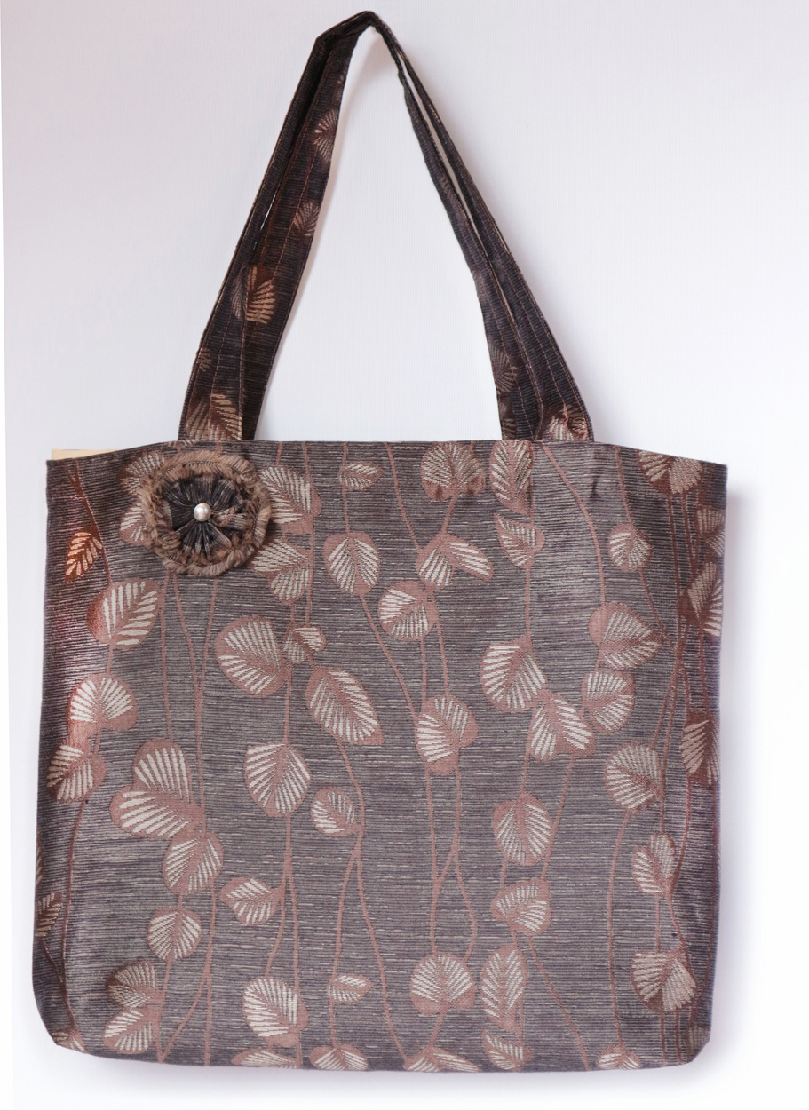 Bronze Leaf Tote Bag