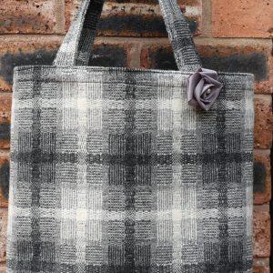 Handmade Tartan Tote Bag