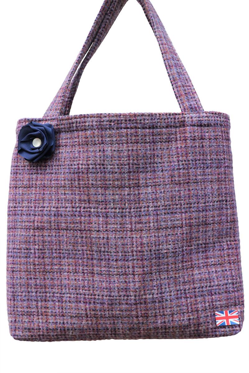 Scottish Harris Tweed Tote Bag